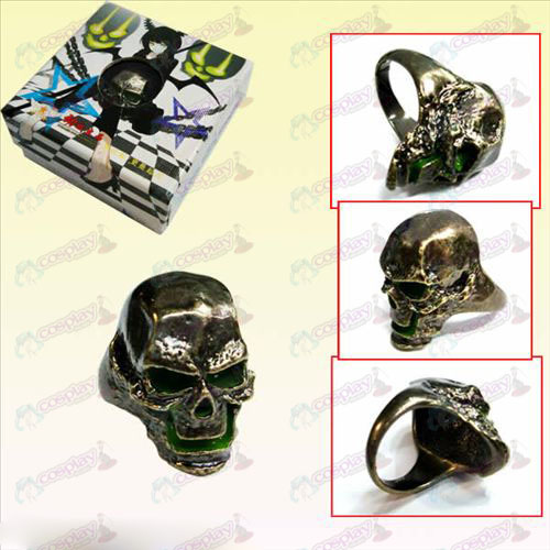 Lack Rock Shooter AccessoriesBleach Accessories Skull Ring