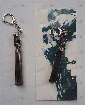 Lack Rock Shooter Accessories Cannon Keychain