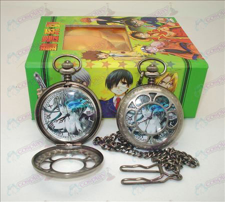 Lack Rock Shooter Accessories hollow pocket watch + Cards