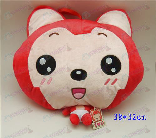 2 # Ali Accessories Plush Shou Wu (round eyes and red)