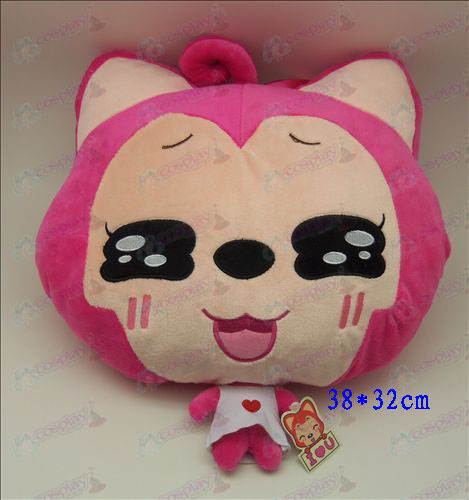 2 # Ali Accessories Plush Shou Wu (small squares Rose)