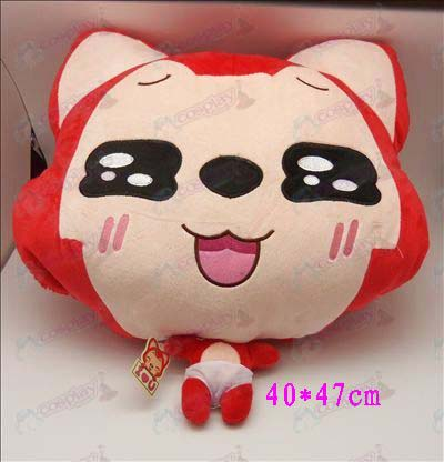1 # Ali Accessories Plush Shou Wu (red squares)