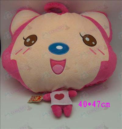 1 # Ali Accessories Plush Shou Wu (pink round eyes)