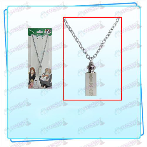Natsume's Book of Friends Accessories weights necklace