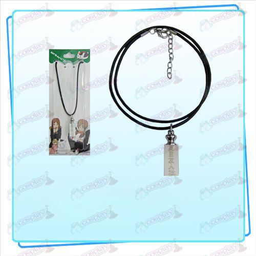 Natsume's Book of Friends Accessories weights black rope necklace