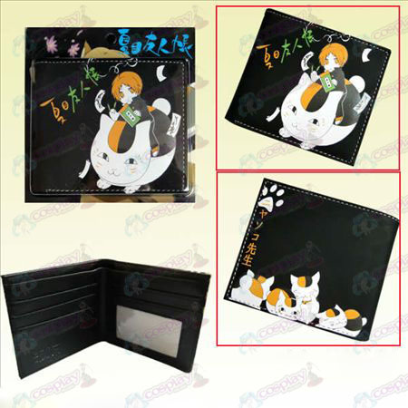 Natsume friends account Cats teacher short wallet