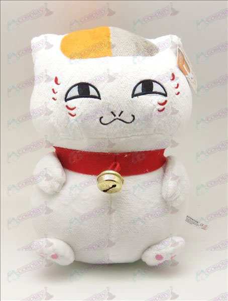 Natsume's Book of Friends Accessories male sitting cat plush (white) 46cm
