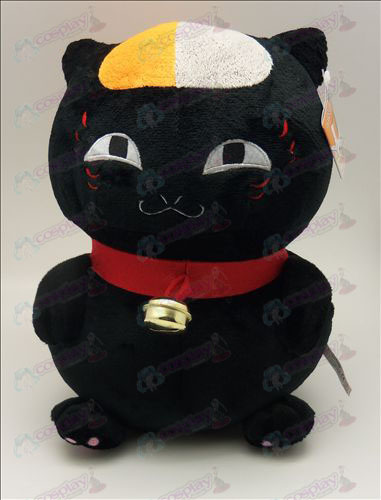 Natsume's Book of Friends Accessories sitting cat plush (black) 46cm