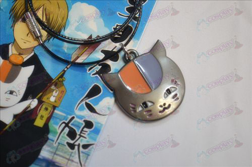 Natsume's Book of Friends Accessories owl necklace black