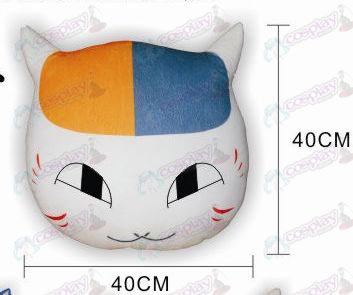 Natsume's Book of Friends Accessories Cat teacher plush pillow (eyes open)