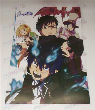 42 * 29Blue Exorcist Accessories embossed posters (8 / set)