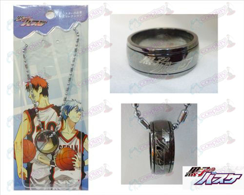 Kuroko's Basketball Vulcan Ring Necklace (gun color)