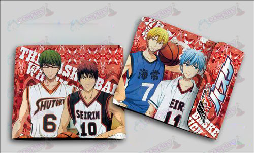 QB-6107kuroko's Basketball Accessories colored snaps wallet