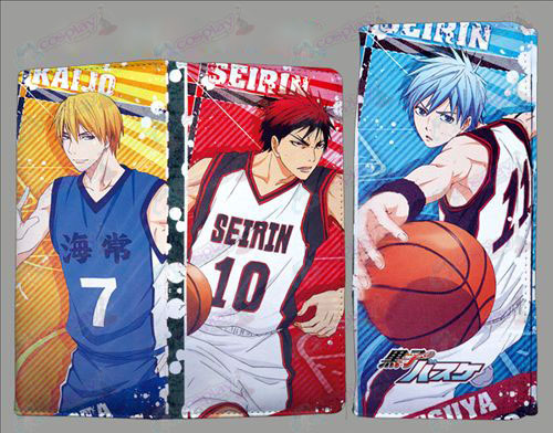 QB2202kuroko's Basketball Accessories fold color wallet