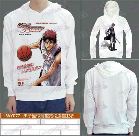 WY072-thin loose hooded sunspot basketball