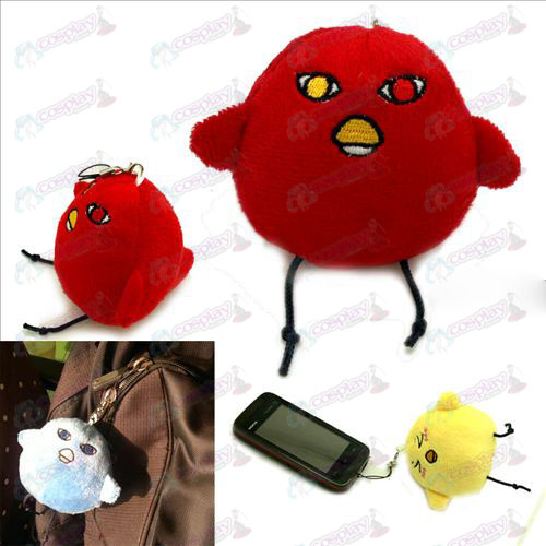 Secretary Meng chickens crimson red plush Charm - Kuroko's Basketball