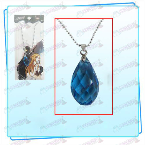 Sword Art Online Accessories Kazuto Asuna Yui Heart Necklace