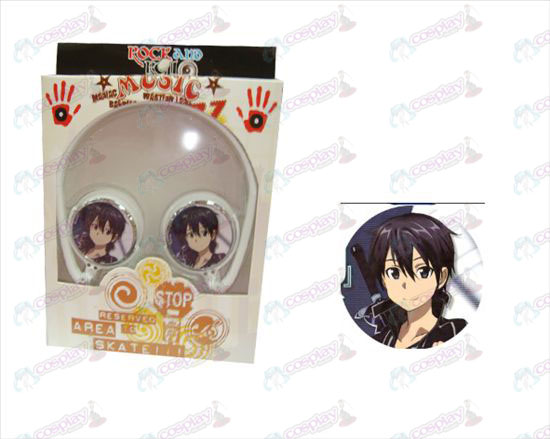 Stereo headset folding headphone-Sword Art Online Accessories-1