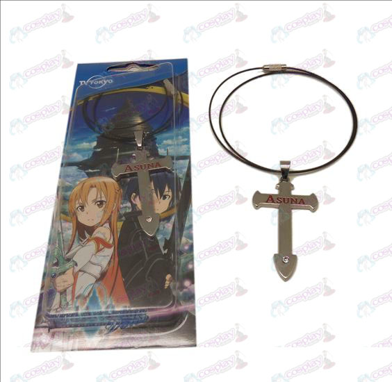 DSword Art Online Accessories Cross Necklace