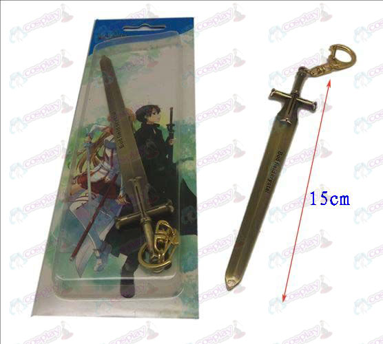 Sword Art Online Accessories knife buckle 2 (Bronze)