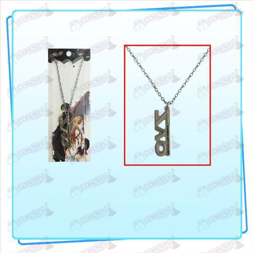 Sword Art Online AccessoriesSAO sign necklace (pearl nickel color)