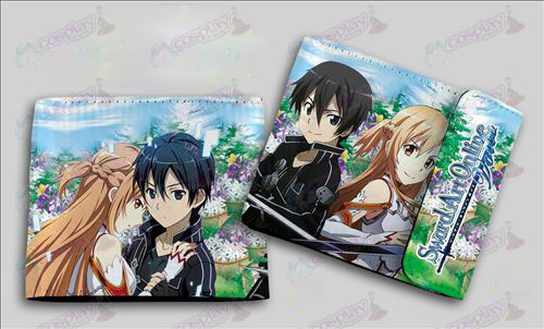 QB-6113Sword Art Online Accessories colored snaps wallet