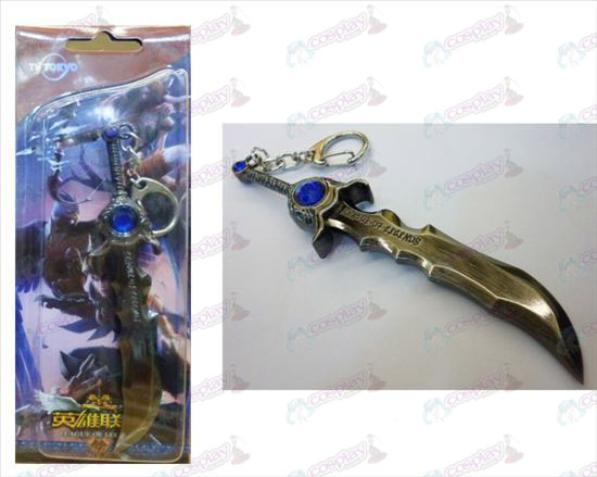 League of Legends Accessories TEDA Mier Blade Knife Buckle gun color