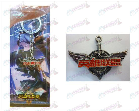 League of Legends Accessories logo keychain
