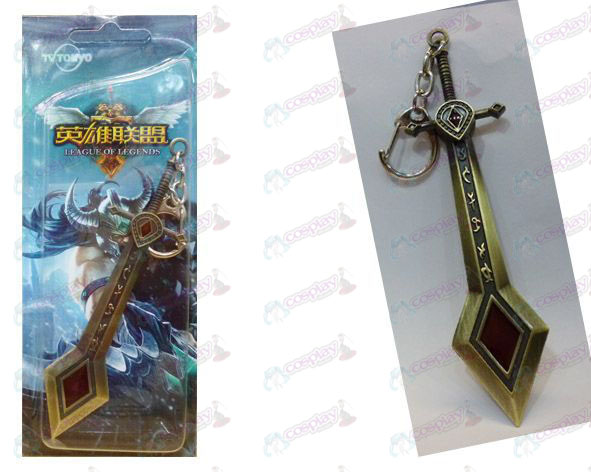 League of Legends Accessories-trial rebel angels - bronze