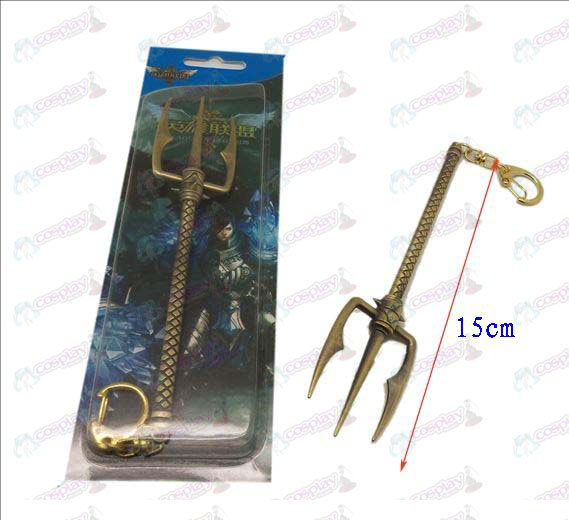 DLeague of Legends Accessories knife buckle 18 (Bronze)