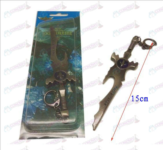 League of Legends Accessories Knife buckle 17 (gun color)