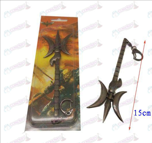 League of Legends Accessories knife buckle 16 (gun color)