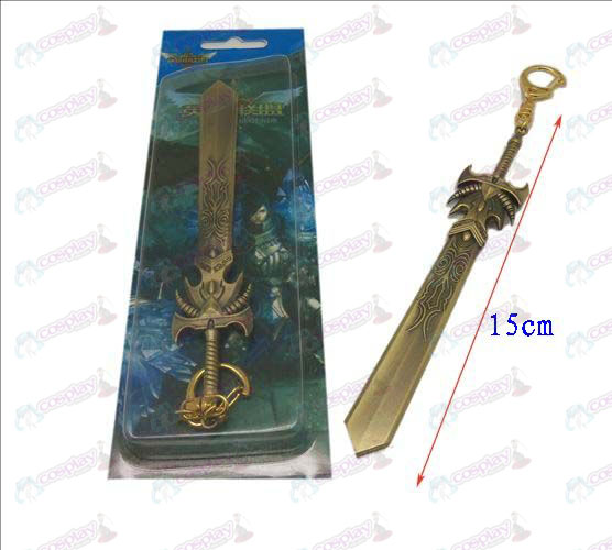 League of Legends Accessories knife buckle 15 (Bronze)