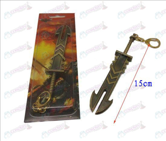 League of Legends Accessories knife buckle 13 (Bronze)