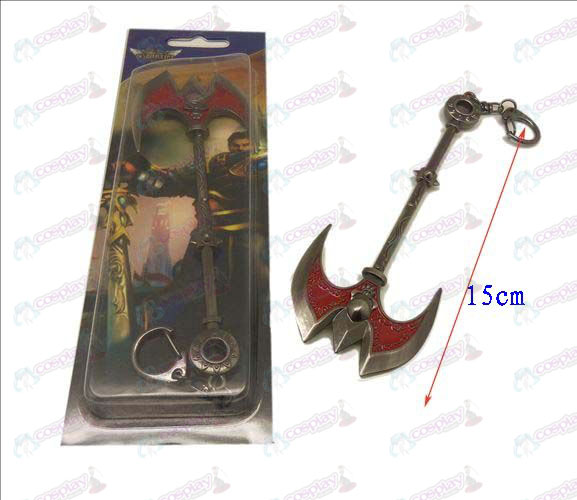 League of Legends Accessories knife buckle 9 (gun color)