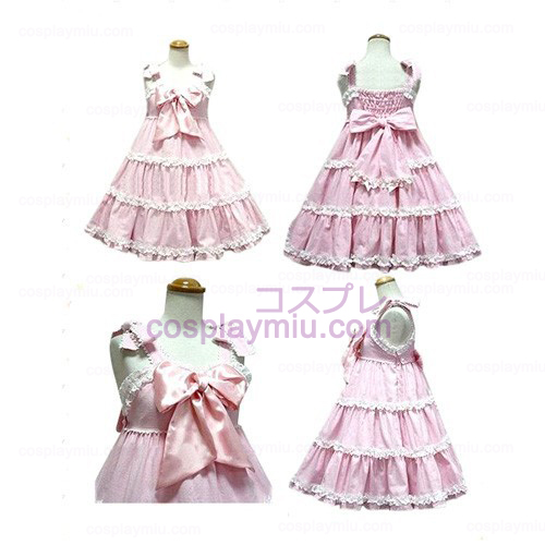 Bow Princess Dress Lolita Cosplay Costume
