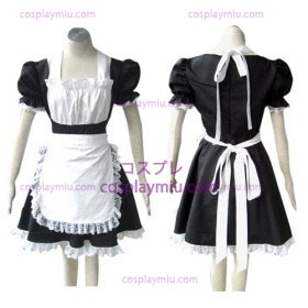 Black Gothic Lolita cosplay costume