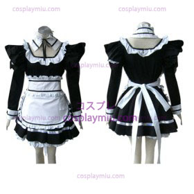 Gothic Lolita Black cosplay costume