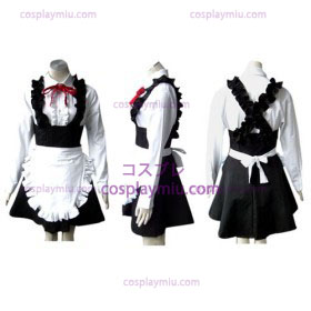 Black Lolita cosplay costume