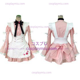 Sweet Plaid Maid Cosplay Lolita Costume