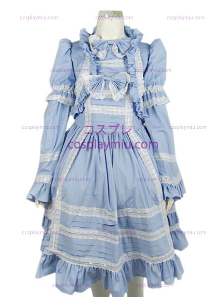 Lolita cosplay costume (light blue)