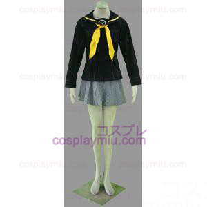 Shin Megami Tensei: Persona 4 Gekkoukan High School Winter Girl Uniform Cosplay Costume