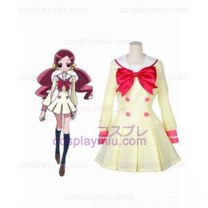 Heart Catch School Uniform Satin Uniform Cloth Cosplay Costume