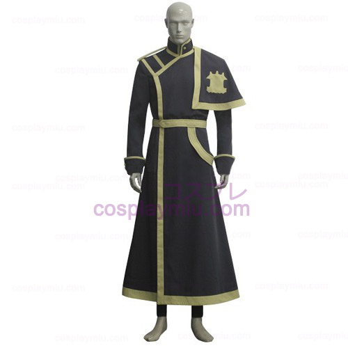 07-Ghost Barsburg Military Form Cosplay Costume