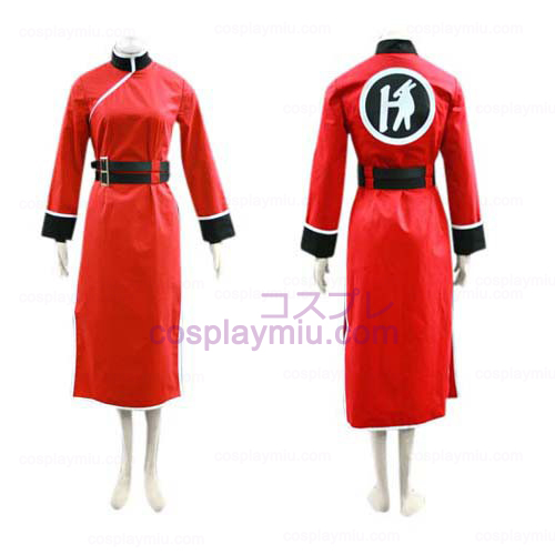 Gintama Kagura Cosplay Costume with Black Belt