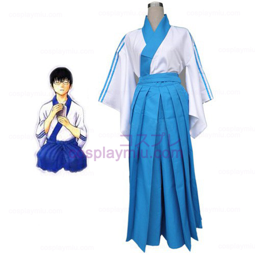 Gintama Shimura Shinpachi Cosplay Costume