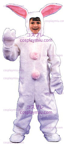 Bunny Suit Child 6 8 White