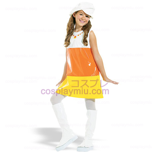 Candy Corn A-Go-Go Child Costume