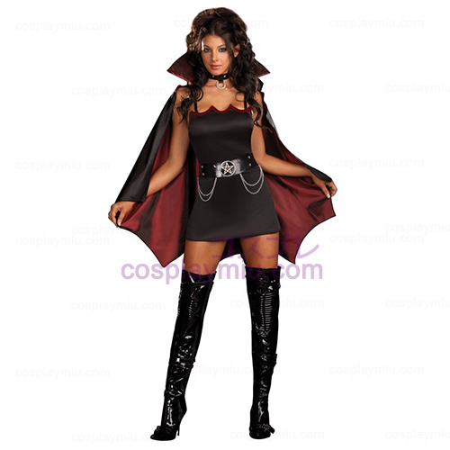 Fang Bangin' Fun Vamp Adult Costume