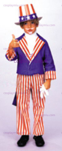 Uncle Sam,Child Costume,Large